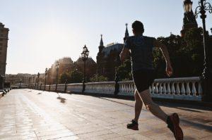 running, moscow, the kremlin